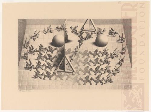 Magic Mirror. January 1946, Lithograph.