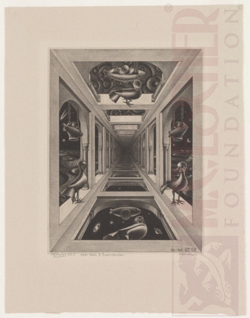 Gallery. December 1946 - April 1949, several states, Mezzotint.