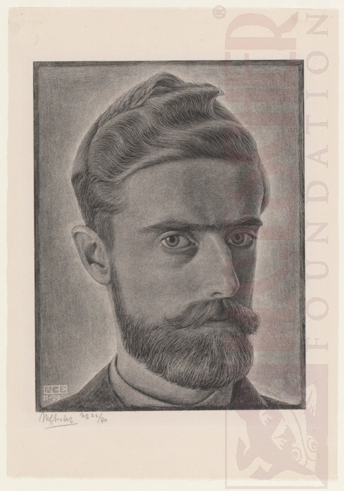 Self-Portrait. November 1929, Lithograph.