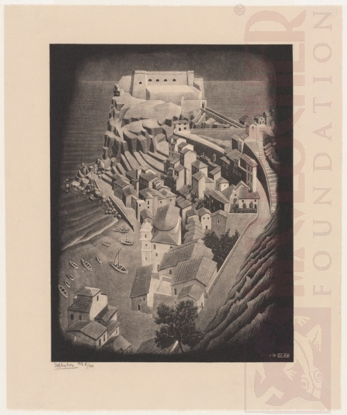 Scilla, Calabria. January 1931, Lithograph.