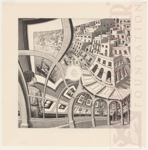 Print Gallery. May 1956, Lithograph.