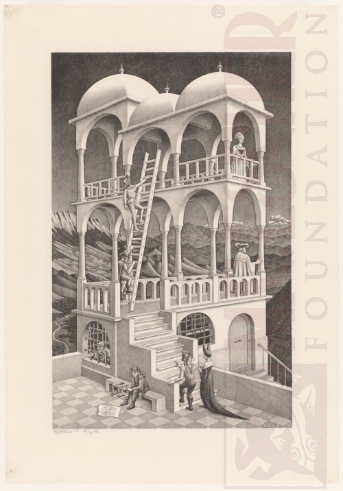 Belvedere. May 1958, Lithograph.