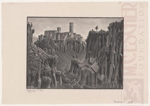 Barbarano, Cimino. December 1929, Lithografie