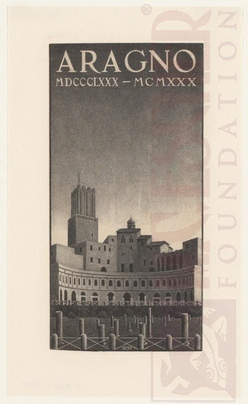 Aragno. Februari 1930, Lithografie