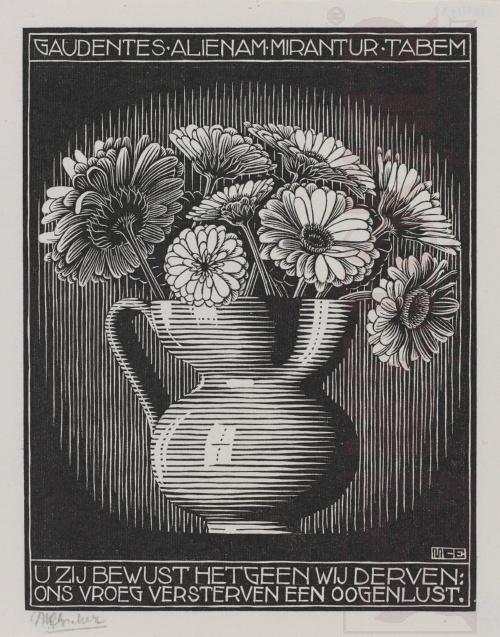 Emblemata, Vaas. Maart-Juni 1931, Houtsnede