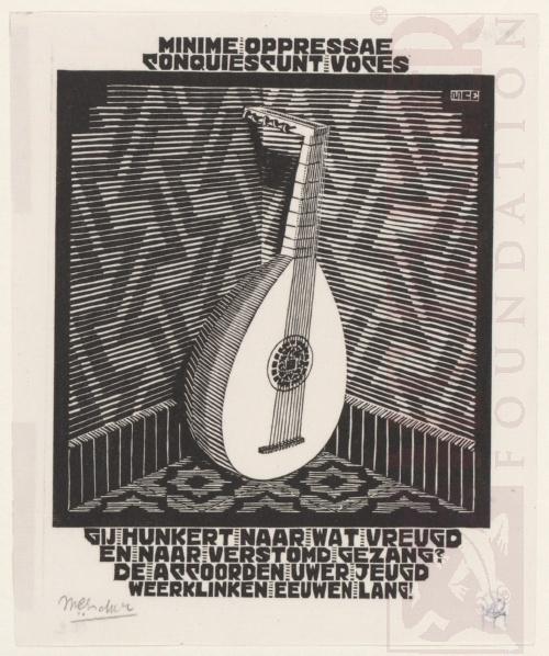 Emblemata, Luit. Maart-Juni 1932, Houtsnede