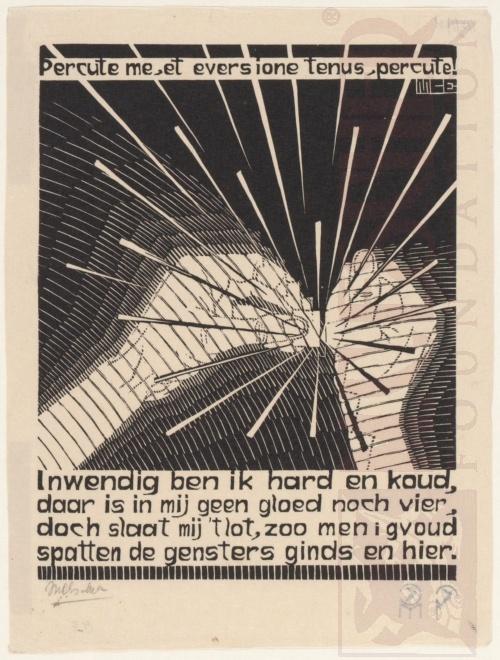 Emblemata, Vuursteen. Maart-Juni 1931, Houtsnede