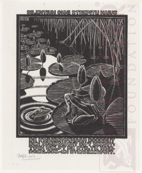 Emblemata, Kikker. Maart-Juni 1931, Houtsnede