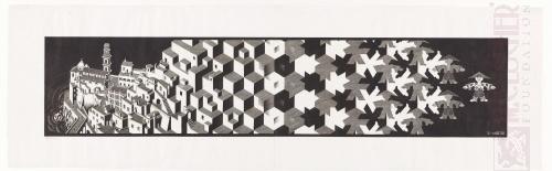 Metamorphose I. Mei 1937, Houtsnede