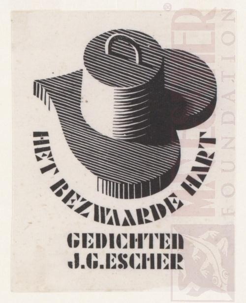 Het Bezwaarde Hart, Vignette. September 1937, Houtsnede