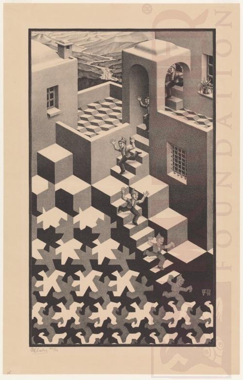 Cyclus. Mei 1938, Lithografie