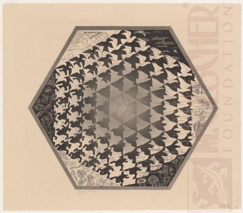 Verbum (Aarde, Lucht en Water). Juli 1942, Lithografie