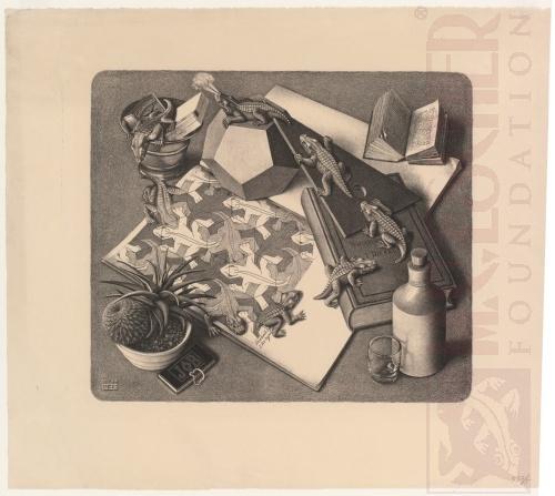 Reptielen. Maart 1943, Lithografie