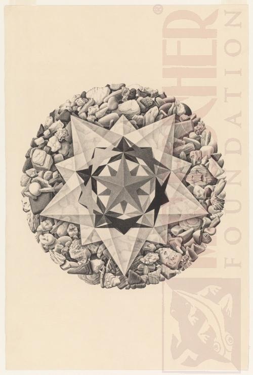 Orde en Chaos II. Augustus 1955, Lithografie