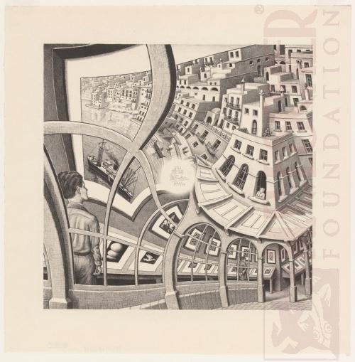 Prentenkabinet. Mei 1956, Lithografie